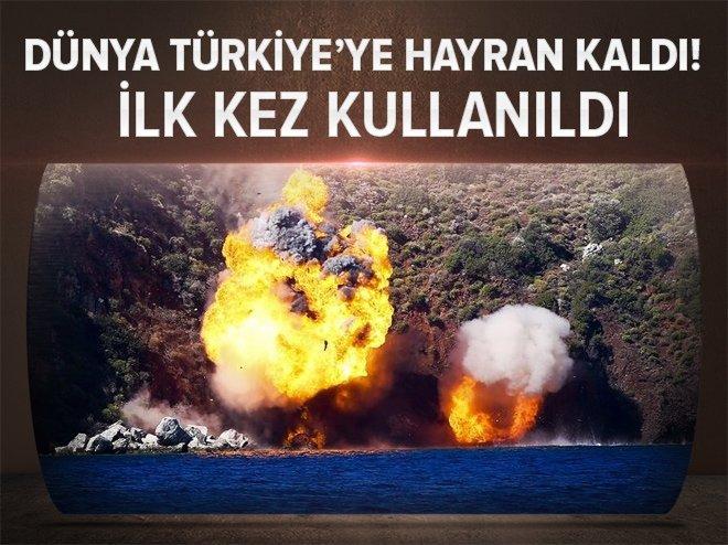 Türkiye yaptı, dünya hayranlıkla izledi