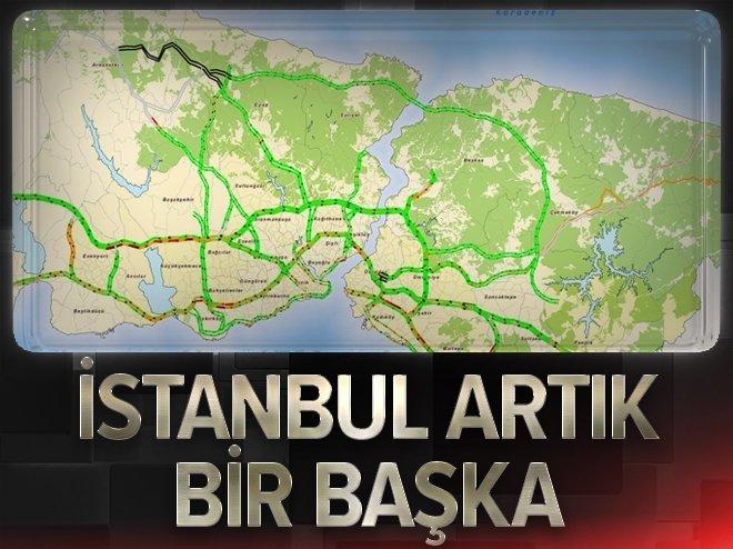 Yavuz Sultan Selim Köprüsü açıldı, trafik rahatladı