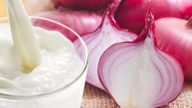 Mor soğan ve süt karışımının faydaları