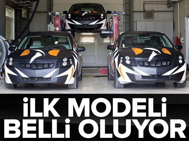Yerli otomobilin ilk modeli belli oluyor