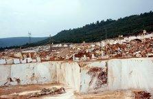 Orhaneli'de 500 milyar dolarlık mermer rezervi çıktı