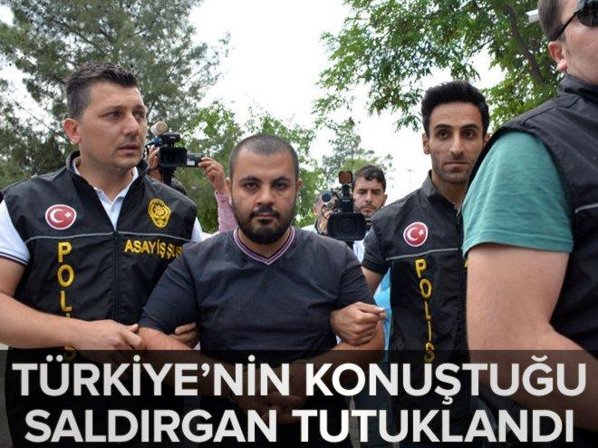 Türkiye'nin konuştuğu saldırgan tutuklandı