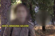 Teslim olan PKK'lı teröristten şok itiraflar!