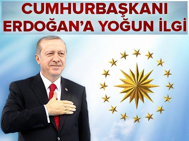 Cumhurbaşkanı Erdoğan'ın tweetlerine yoğun ilgi