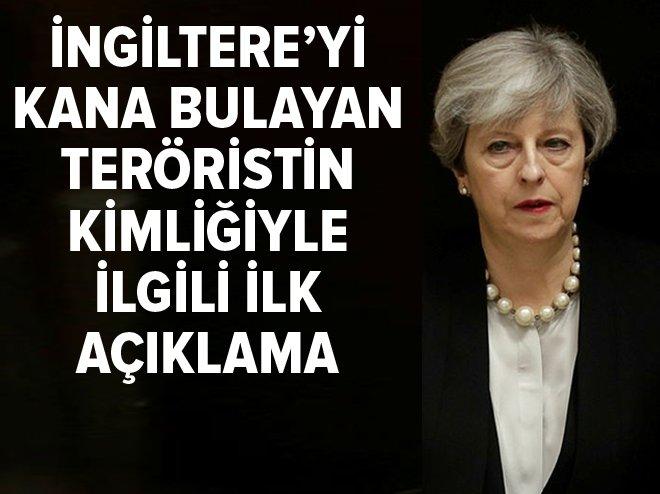 İngiltere'yi kana bulayan teröristin kimliğiyle ilgili açıklama