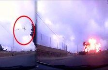 Malta'da uçağın yere çakıldığı o anlar