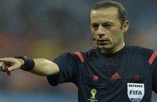 UEFA'dan şok Cüneyt Çakır kararı!