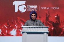 Emine Erdoğan: 15 Temmuz bir halk devrimiydi