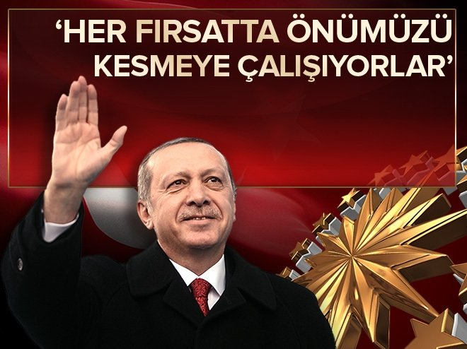 Erdoğan: Büyük Türkiye'nin önünde kimse duramaz