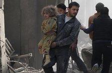 Suriye rejiminden Doğu Guta'ya hava saldırısı
