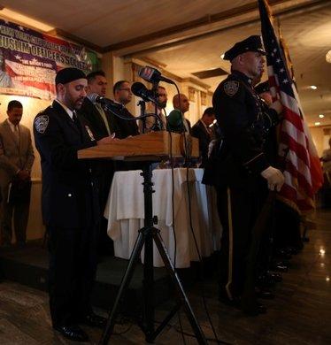 ABD'deki Müslüman polisler iftar yemeği verdi