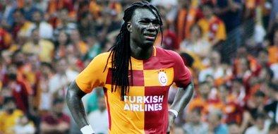 Galatasaray- Östersunds karşılaşmasından kareler