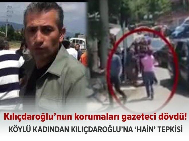 Köylü kadından Kılıçdaroğlu'na: 'Sen vatan hainisin! Köpek!'