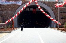 Doğu Anadolu'yu Akdeniz'e bağlayan Erkenek Tüneli açıldı