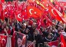 ALMANYA'DAKİ TÜRKLER'DEN BÜYÜK PROTESTO