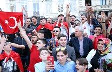 Cumhurbaşkanı Erdoğan Brüksel'de coşkuyla karşılandı
