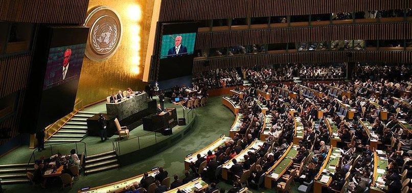 BM'DE ŞOK! 6 ÜLKE TEMSİLCİSİ SALONU TERK ETTİ