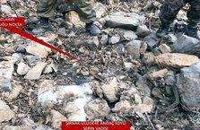 Uludere'de terör örgütü PKK'nın gömülü mühimmatı ele geçirildi