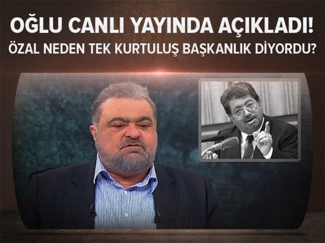 Turgut Özal neden 'Tek kurtuluş başkanlık' diyordu?