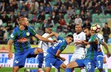 Beşiktaş son dakikada bulduğu golle Rize'den 3 puanla döndü