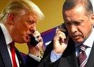 DONALD TRUMP'TAN CUMHURBAŞKANI ERDOĞAN'A TEBRİK