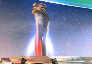 3. Havalimanı'nın 'kulesi' yükselmeye başladı
