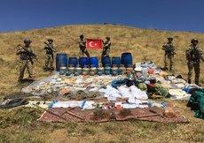 Diyarbakır'da terör örgütü PKK'ya ait sığınak imha edildi