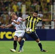 Fenerbahçe - Sturm Graz karşılaşmasından kareler