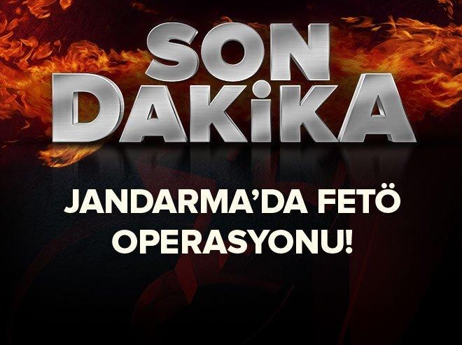 Jandarma'da FETÖ soruşturması