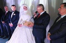 Başbakan Yıldırım yeğeninin nikah törenine katıldı