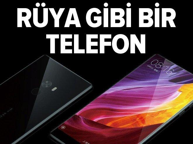 Xiaomi'den rüya gibi bir telefon: Mi Mix