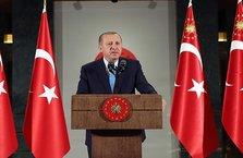 Erdoğan'dan Kara Kuvvetleri Komutanlığı mesajı