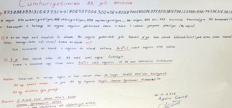 93 MAAŞ ÖDÜLLÜ SORULAR ÇÖZÜLDÜ