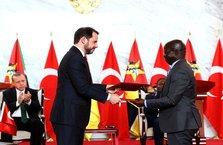 Türkiye ile Mozambik arasında 6 anlaşma sağlandı