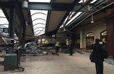 Tren platforma çarptı: 3 ölü 100'den fazla yaralı