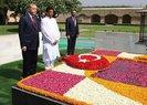 Cumhurbaşkanı Erdoğan, Mahatma Gandhi Anıtı'nı ziyaret etti