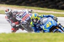 MotoGP'de zorlu ve heyecanlı yarış