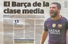Arda, İspanyol basınında! Bu sefer oyunuyla değil...