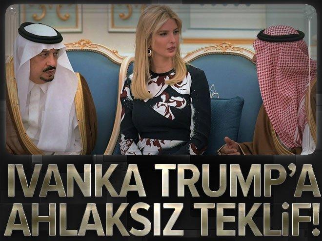 Ivanka Trump'a ahlaksız teklif!