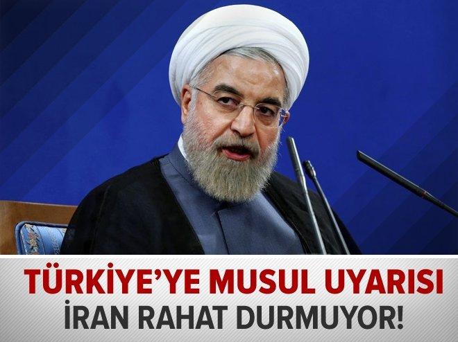 Ruhani Türkiye'yi Musul için uyardı