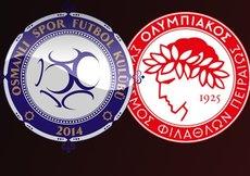 Osmanlıspor, Olympiakos karşısında tur peşinde