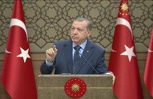 Erdoğan: Lozan'ı bize zafer diye yurtturdular