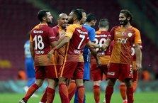 Galatasaray kupada farka koştu.