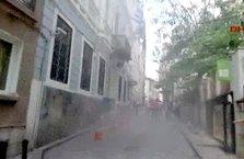 Yunan Başkonsolosluğu'nda dumanlar yükseliyor