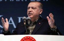 Erdoğan, konuşmasına dua ile başladı