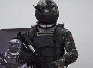 Rus askerlerine sıradışı elbise