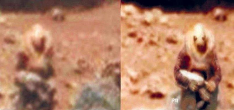 BU FOTOĞRAF MARS'TA ÇEKİLDİ!