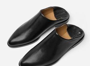 Yeni terlik modası: Topuğuna basılmış ayakkabı