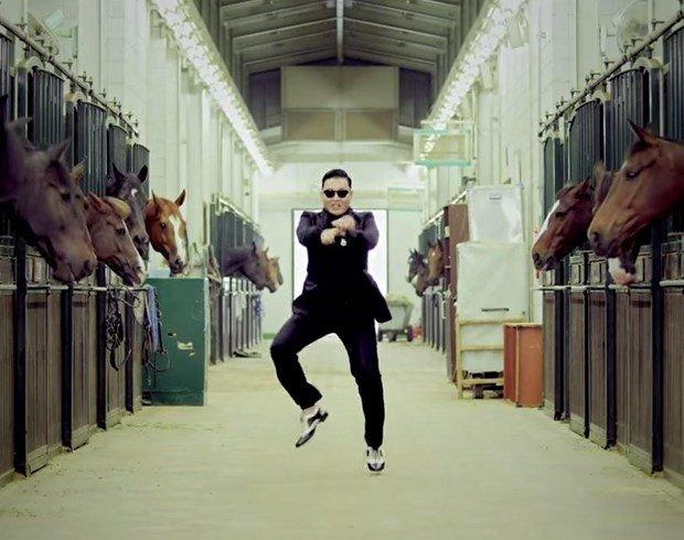 'Gangnam Style' ile ünlenen Psy'ya 'Elmas tuş'