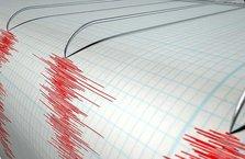 5,7 büyüklüğünde deprem meydana geldi